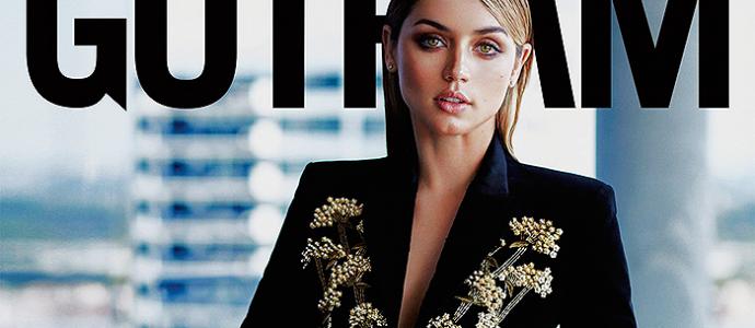 """Ana de Armas é capa da revista """"Gotham"""""""