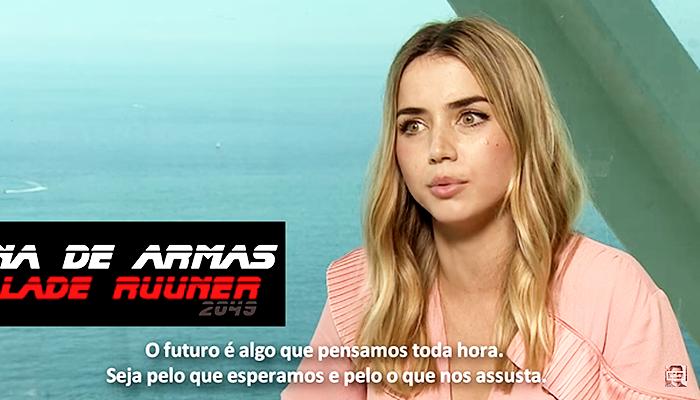 "VÍDEO LEGENDADO: Federico Devito entrevista o elenco de ""Blade Runner 2049"""